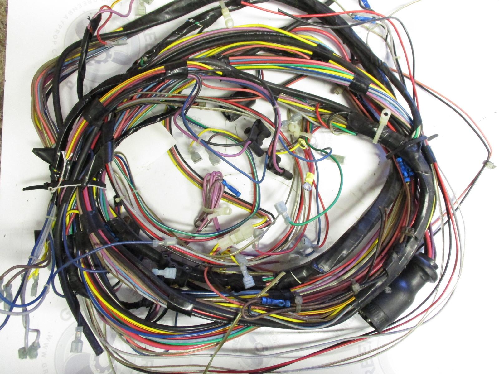 232bmrmed omc cobra 2 3l engine complete wiring harness 16. Black Bedroom Furniture Sets. Home Design Ideas