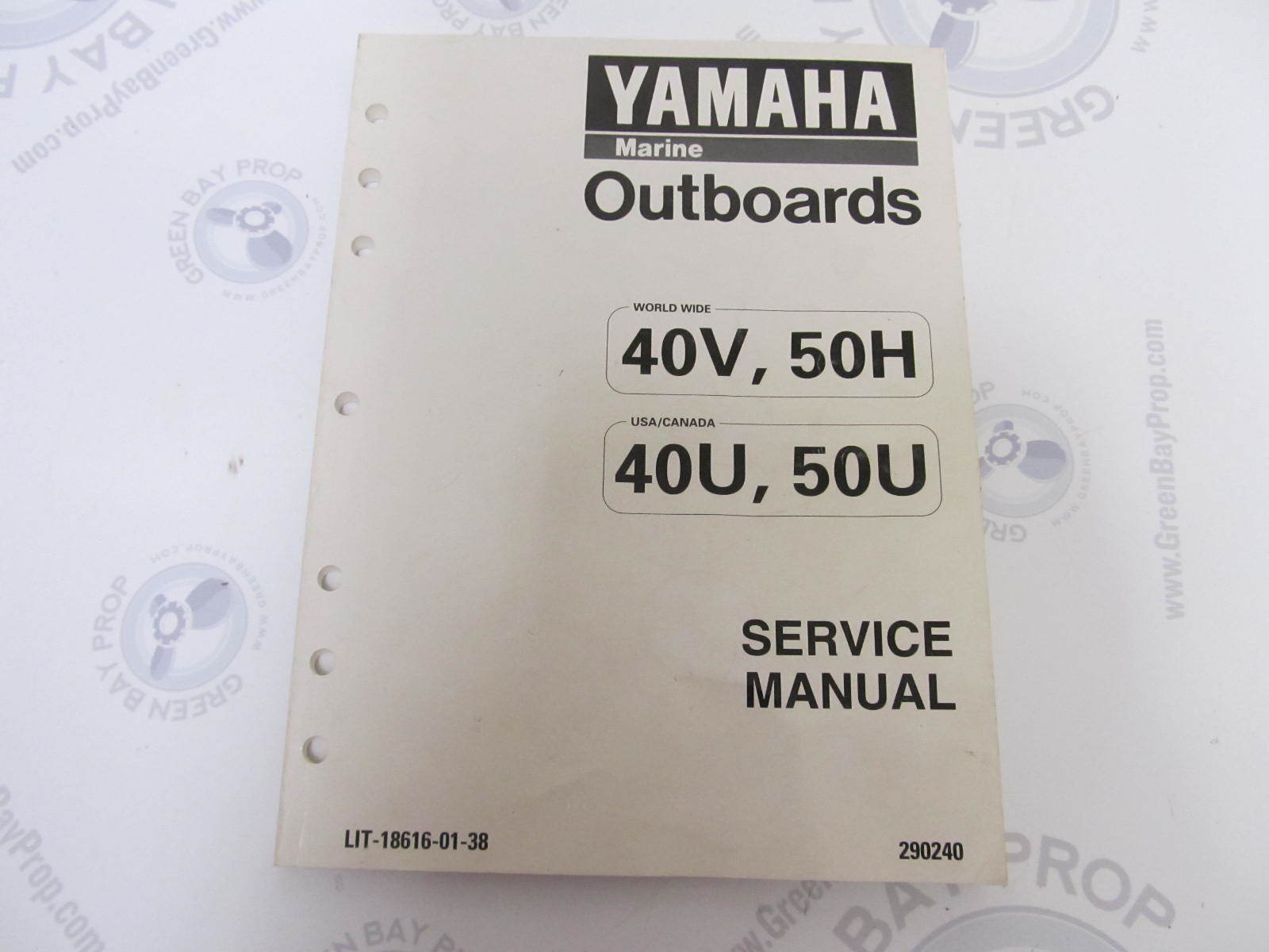 yamaha 40 hp outboard manual