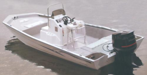 Cover For Aluminum Modified V Hull Jon Boats W High Center