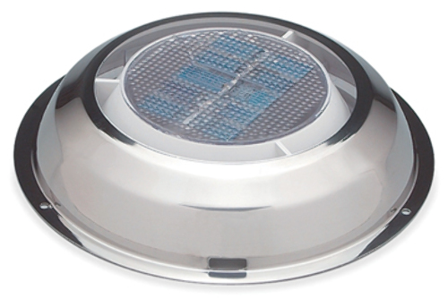 Nicro Minivent 1000 Solar Powered Exhaust Vent 3 Quot Ss