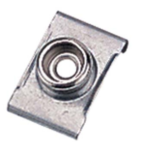"""STAINLESS STEEL WINDSHIELD CLIP-Windshield Clip, 7/8"""" Base, Set of 4"""
