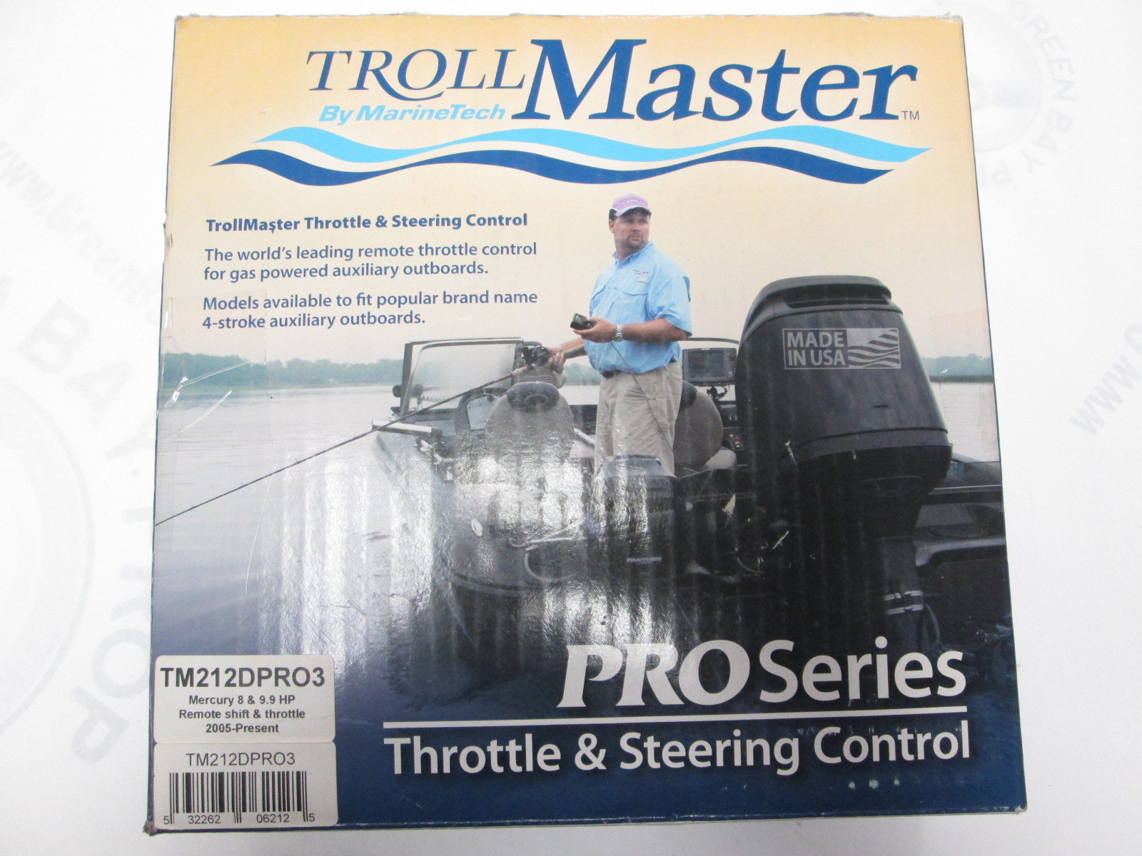 Tm212dpro3 Troll Master Throttle Steering Control For