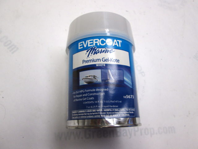 105673 Evercoat Gel-Kote Coat White 1 Pint