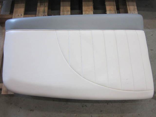 Mastercraft Ski Boat Seat Cushion White Grey Vinyl Green