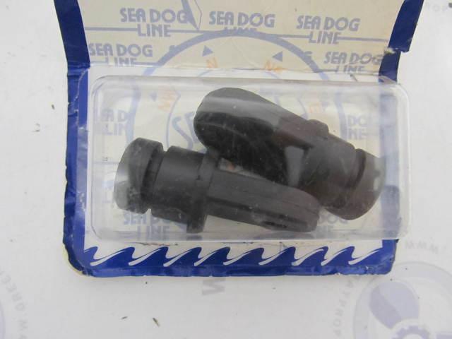 """273180-1  SeaDog Black Nylon Top Insert Fitting Set for Tube O.D. 7/8"""""""