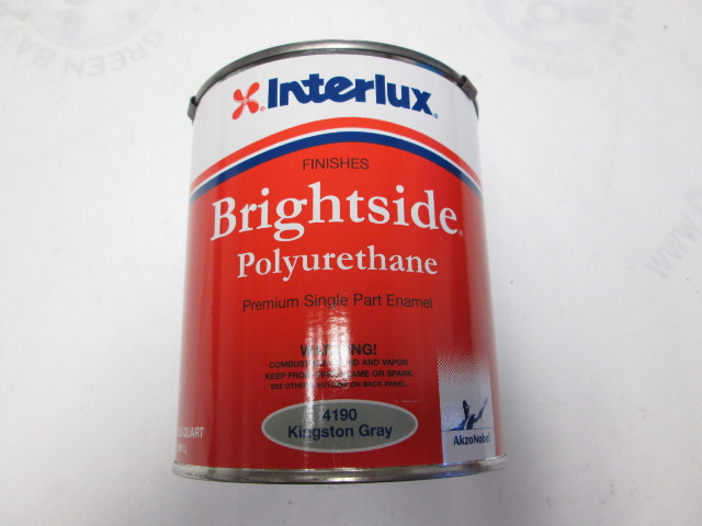 4190 Interlux Brightside Top Side Polyurethane Kingston Gray