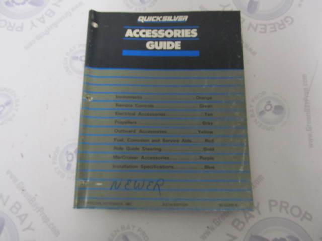 90-42000-6 Quicksilver Marine Accessories Parts Catalog Guide 1987-88