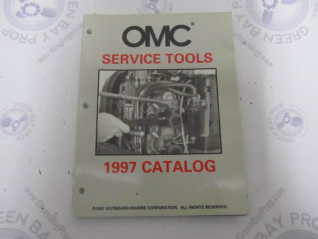 507275 OMC Cobra Evinrude Johnson Special Tools Parts Catalog 1997