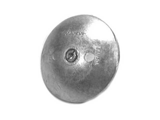 804451T Mercury Marine Zinc Universal Rudder Anode NLA