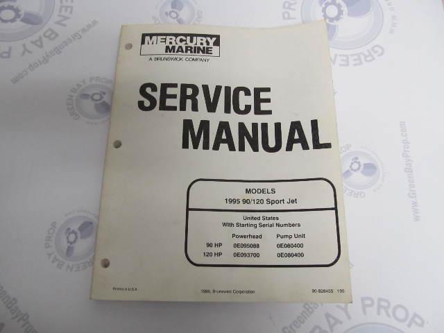 1995 Mercury Mariner Outboard Service Manual 90 120 Sport