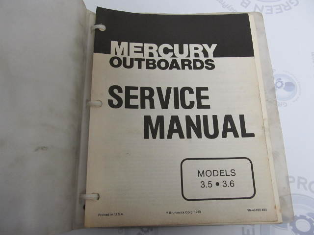 90 43183 mercury outboard service manual 3 5 3 6 hp 35 hp mercury outboard service manual pdf mercury service manual - 35-125 hp