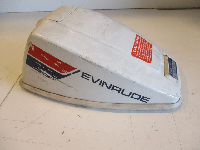 1974 15 Hp Johnson Evinrude Outboard Cowl Engine Cover