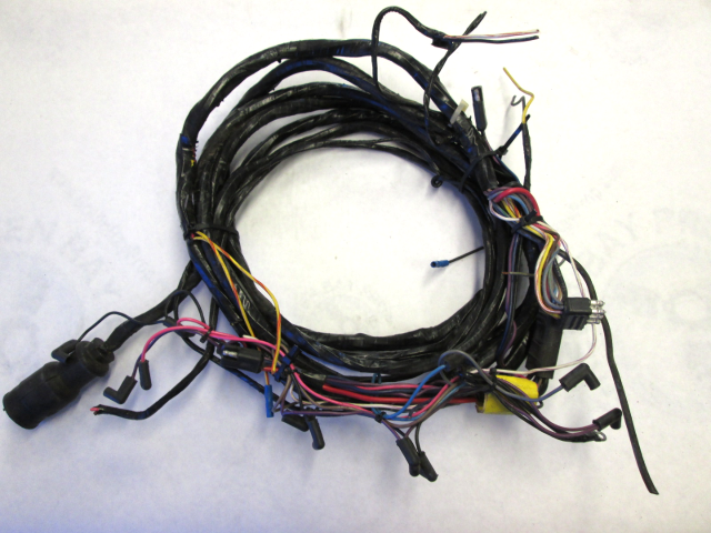 wire harness engine to dash boat omc cobra 16 ft 8 pins green bay propeller marine llc