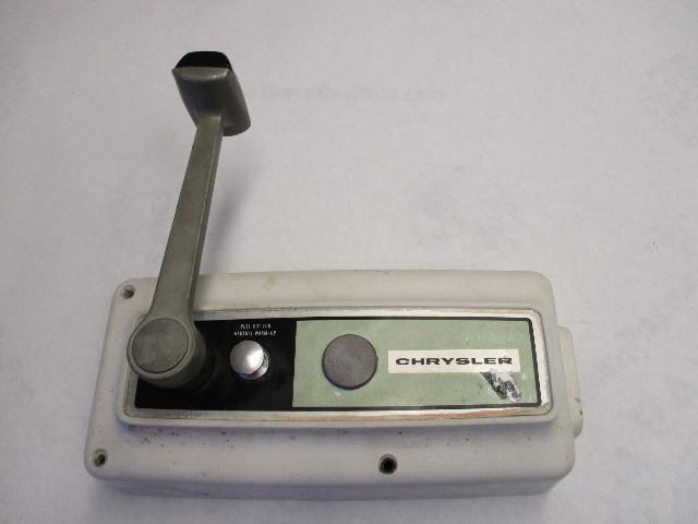 Boat Control Box Handle : Remote control box handle chrysler force green bay