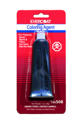 1005008 Evercoat Marine Coloring Agent for Epoxy Resins 1 oz Black