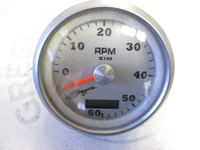 Tc9235a faria baja brushed aluminum black 6k rmp adjustable tachometer gauge green bay - Garage auto pro arc les gray ...