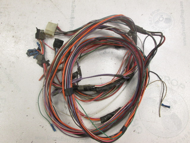 14 ft engine to dash wire harness bayliner cascade with volvo penta rh greenbayprop com Automotive Wiring Harness bayliner stereo wiring harness