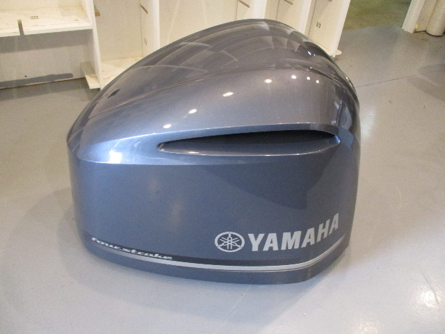 Yamaha marine outboard motor cover cowl 300 hp four stroke damaged yamaha marine outboard motor cover cowl 300 hp four stroke damaged front sciox Image collections