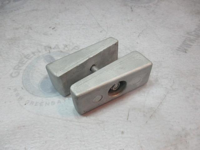 826134Q Mercury Mariner Force 65-125 HP Side Pocket Wedge Anode Set & Bolt  826134A1