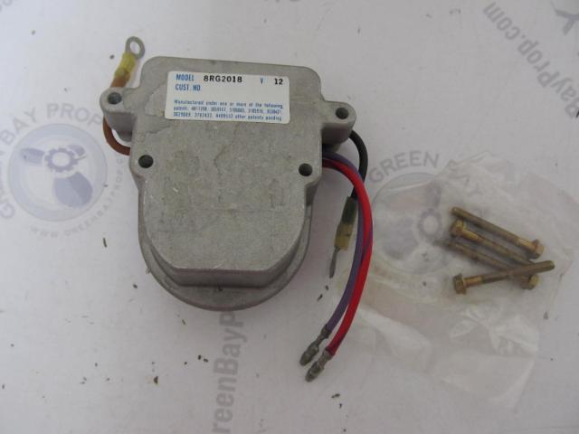 390-7036 Mercury Mercruiser GM Motorola Prestolite Voltage Regulator 12V NLA
