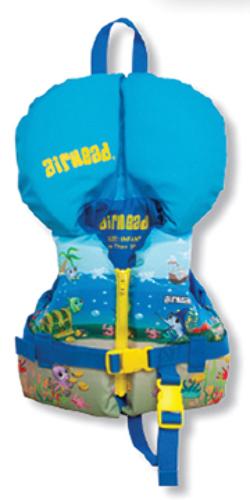 AIRHEAD INFANT NYLON VEST-Infant, Up to 30 lbs, Treasure Design