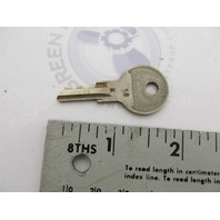 0501807 501807 OMC Ignition Switch Key 77-58 for Evinrude Johnson Outboards