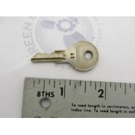 0501810 501810 OMC Ignition Switch Key 77-61 for Evinrude Johnson Outboards