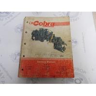 507708 Cobra Stern Drive Service Manual 2.3-5.7L 350 460 King Cobra
