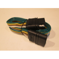 """08011 Calterm 4-way Flat 60"""" 4 Wire Trailer Extension Harness"""
