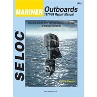 Mariner Outboard 3 4 6 CYL  1977-89 Shop Repair Service Manual 1402