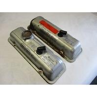 14025549 Vintage OMC V6 Stringer Sterndrive  Port & STBD Valve/Rocker Cover 14095080