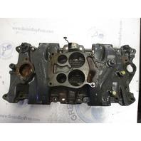 0986068 14096244 OMC Stern Drive 5.0 5.7 V8 Chevy Intake Manifold 4 Barrel