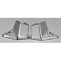 1605 Taylor Made Boat Chromed Wing Brackets 1 Pair
