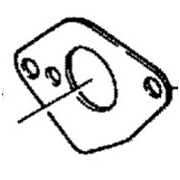 27-16327 Mercury Mariner 4-9.8 HP Outboard Carburetor Gasket