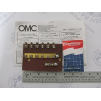 0174535 174535 OMC Evinrude Johnson Marine Fuse Panel Terminal Block