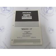 90-17721 Mercruiser Bravo I / II Stern Drive Engine Parts Catalog