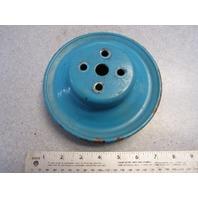 D2JL-8509-E Ford V8 Water Pump Pulley 2 Belt Groove OMC Mercruiser Stern Drive