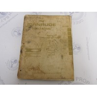 1968 Evinrude Outboard Service Manual 65 HP Sportfour