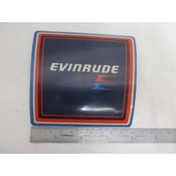 209115 0209115 Evinrude Outboard Rear Applique Decal Plate 50 55 60 HP