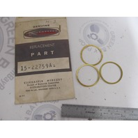 15-22759A1 Mercury Kiekhaefer Mark Outboard Ball Bearing Shim Assembly NLA