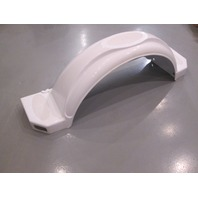"250-023712-11 EZ Loader  White Boat Trailer Fender for 14"" tires"