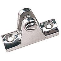 270240-1 SeaDog Bimini Top Hinge Stainless Concave Base Deck Hinge