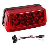 LED WATERPROOF TRAILER TAIL LIGHT -8-Function Tail Lamp, Left 271595