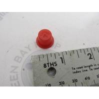 29474 Mercury Kiekhaefer MerCap Vintage Red Caplug Cap Plug NLA