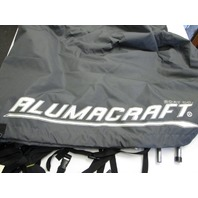 Charcoal Canvas Boat Cover for Alumacraft Boats 14' x 68""