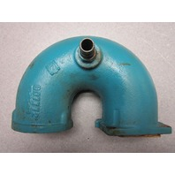 907772 OMC Stringer Stern Drive 2.5 3.0 Curved Exhaust Elbow