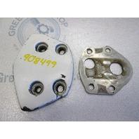 0908499 OMC Stringer Hinge Pivot Cap Cover & Plate 1975-77 908499