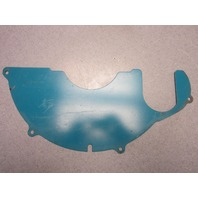 0909370 OMC Stringer V6 V8 Flywheel Cover Ring Guard Plate