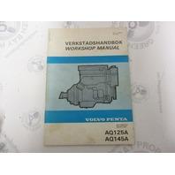 3590A Volvo Penta Service Workshop Manual Aquamatic AQ125A 145A 1981