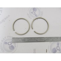 0378411 378411 Std Piston Ring Set of 2 OMC Evinrude Johnson Vintage